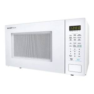 Sharp Carousel 1.4 Cu Ft Microwave Oven, White