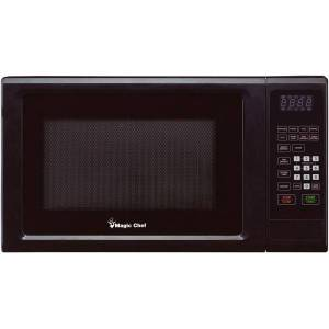 MAGIC CHEF MC Appliance MCM1110B Microwave Oven - Single - 8.23 gal Capacity - Microwave - 10 Power Levels - 1000 W Microwave Power - 110 V AC - Black
