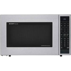 Sharp Convection Microwave Oven SMC1585BS - Combination - 11.22 gal Capacity - Convection, Microwave, Roasting, Baking, Browning - 10 Power Levels - 9