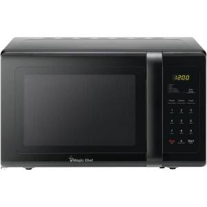 Magic Chef 0.9 cu. ft. Countertop Microwave Oven - Single - 6.73 gal Capacity - Microwave - 10 Power Levels - 900 W Microwave Power - Countertop - Bla