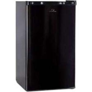 Commercial Cool CCR32B 3.2 Cu Ft Refrigerator/Freezer, Black