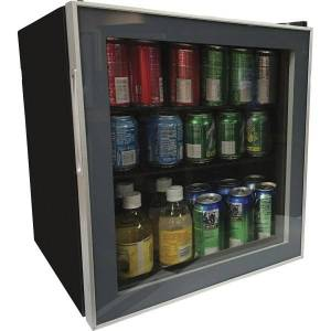 Avanti 1.6 cubic foot Beverage Cooler - 1.60 ft - Reversible - 1.60 ft Net Refrigerator Capacity - 120 V AC - 265 kWh per Year - Glass Door - Freest