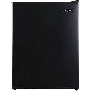 Magic Chef MCAR240B2 Refrigerator - 2.40 ft - Auto-defrost - Reversible - 2.40 ft Net Refrigerator Capacity - 300 kWh per Year - Black - Wire Shelf