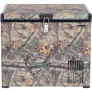Magic Chef Portable Freezer, 1.4 Cu Ft, Realtree Xtra Camo