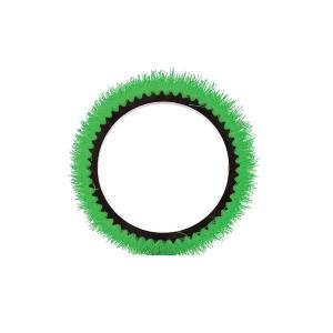 """Oreck Commercial Orbiter Scrub Brush, 13"""", Green"""