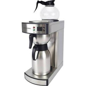 Coffee Pro Commercial Coffeemaker - 2.32 quart - Stainless Steel - Stainless Steel