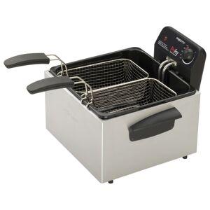 Presto ProFry 05466 Dual Basket Deep Fryer - 3 quart Oil