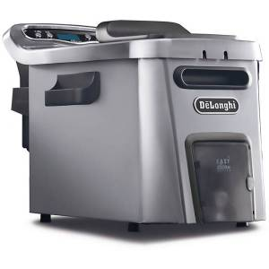 DeLonghi Livenza Deep Fryer With EasyClean, Stainless Steel
