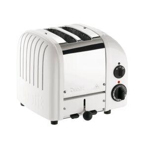 Dualit NewGen Extra-Wide-Slot Toaster, 2-Slice, White