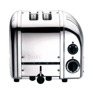 Dualit NewGen Extra-Wide Slot Toaster, 2-Slice, Polished Chrome