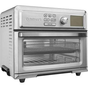"""Cuisinart Digital Air Fryer Toaster Oven, 14""""H x 15-3/4""""W x 14""""D, Silver"""