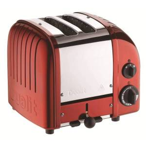Dualit NewGen Extra-Wide Slot Toaster, 2-Slice, Apple Candy Red