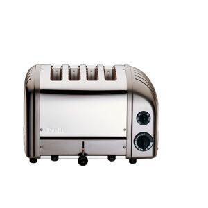 Dualit NewGen Extra-Wide Slot Toaster, 4-Slice, Metallic Charcoal
