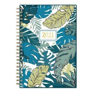 """Blue Sky Weekly/Monthly Planner, 5"""" x 8"""", Grenada, January To December 2021, 125891"""
