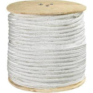 """Office Depot Brand Double-Braided Nylon Rope, 14,500 Lb, 3/4"""" x 600', White"""