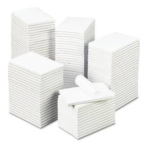 """Universal Bulk Scratch Pads, 4"""" x 6"""", Unruled, 200 Pages (100 Sheets), White, Carton Of 120"""