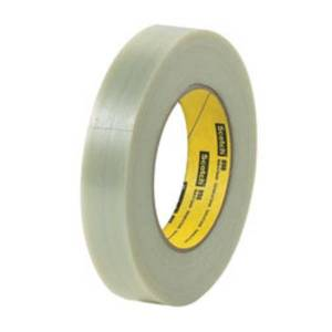 """3M 898 Strapping Tape, 2"""" x 60 Yd., Clear, Case Of 24"""