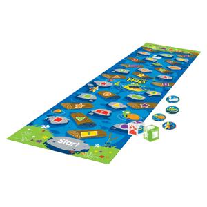 Learning Resources Crocodile Hop Floor Game, Grades Pre-K-3