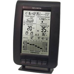 AcuRite 00634 Weather Forecaster - LCD - Weather Forecaster330 ft - Desktop, Wall Mountable