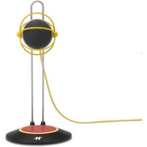 STRAY ELECTRONS, LLC Neat Widget B Microphone - 20 Hz to 20 kHz - Wired - Condenser - Cardioid - Desktop, Shock Mount - USB 2.0