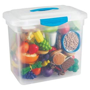 Learning Resources New Sprouts Classroom Play Food Set, Assorted Colors, Grades Pre-K - 3