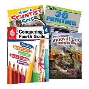 ATDEC Shell Education Conquering The Grades, Grade 4