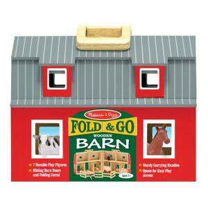 Melissa & Doug 10-Piece Fold And Go Barn