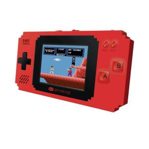 Dreamgear Pixel Player Portable Gaming System With 300 Games, Red, DG-DGUNL-3202