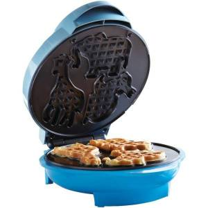 Brentwood Animal Shape Waffle Maker, Blue