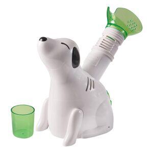 "HealthSmart Kids' Personal Steam Inhaler Vaporizer, Digger Dog, 4 1/2""H x 9 3/4""W x 10""D, White"