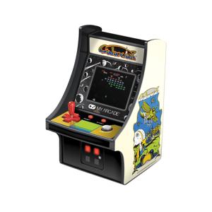 """Dreamgear 6"""" Retro Galaxian Micro Arcade Cabinet, White, DG-DGUNL-3223"""