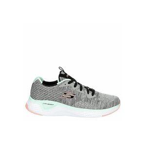 Skechers Womens Solar Fuse Sneaker Running Sneakers - GREY Size 6M -  GREY(Size: 6M)