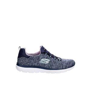 Skechers Womens Summits Slip On Sneaker -  NAVY(Size: 6M)