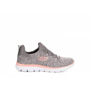 Skechers Kids Womens Summits  Running Sneakers - GREY Size 6.5M -  GREY(Size: 6.5M)
