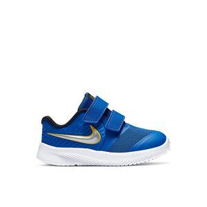 Nike Boys Star Runner 2 Slip On Sneaker Running Sneakers - BLUE Size 5M -  BLUE(Size: 5M)