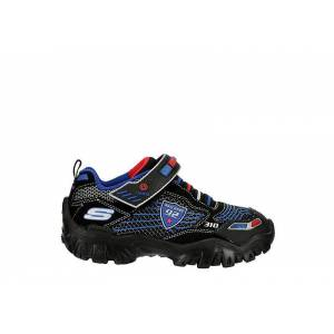 Skechers Boys Damager Iii Light Up Sneaker Sneakers -  BLACK(Size: 1M)