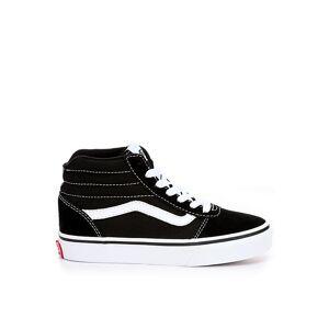 Vans Boys Ward Hi Top Sneaker Sneakers -  BLACK(Size: 6.5M)