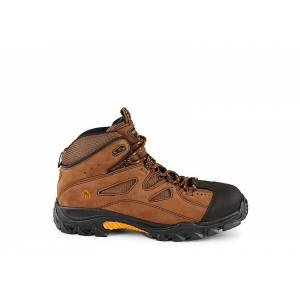 Wolverine Mens Steel Toe Hiker -  BROWN(Size: 11.5W)
