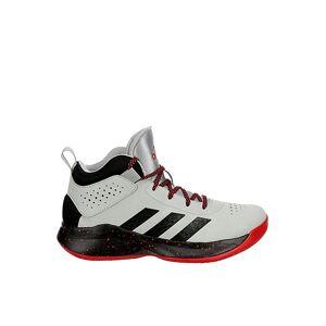 Adidas Boys Cross Em Up Basketball Shoe Sneakers -  GREY(Size: 4W)