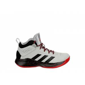 Adidas Boys Cross Em Up Basketball Shoe Sneakers -  GREY(Size: 7W)