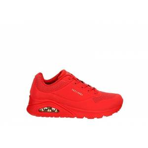 Skechers Womens Uno Stand On Air Sneaker Sneakers -  RED(Size: 7.5M)