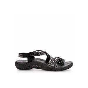 Skechers Womens Happy Rainbow Outdoor Sandal -  BLACK(Size: 8.5M)
