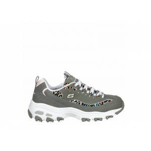 Skechers Womens Dlites Sneaker Trainers Sneakers -  GREY(Size: 9.5M)