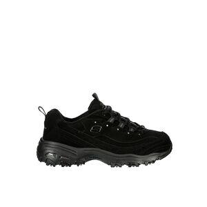 Skechers Womens Dlites Sneaker -  BLACK(Size: 7.5M)