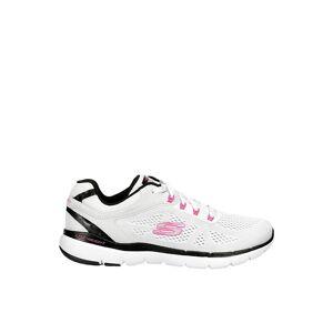 Skechers Womens Flex Appeal 3.0 Sneaker Running Sneakers - WHITE Size 7M -  WHITE(Size: 7M)