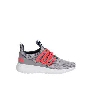 Adidas Girls Lite Racer Adapt 3.0 Slip On Sneaker Running Sneakers - GREY Size 4.5M -  GREY(Size: 4.5M)