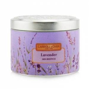 The Candle Company (Carroll & Chan)100% Beeswax Tin Candle - Lavender (8x6) cm