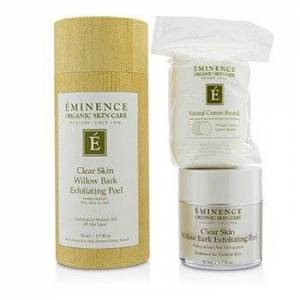 EminenceClear Skin Willow Bark Exfoliating Peel (with 35 Dual-Textured Cotton Rounds) 50ml/1.7oz