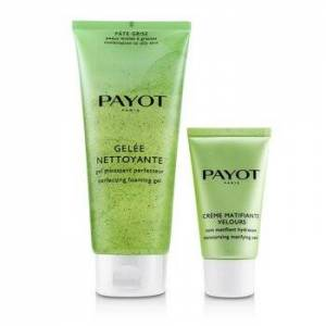 PayotPate Grise Anti-Imperfections Coach Kit : 1x Foaming Gel 200ml + 1x Moisturising Matifying Care 50ml 2pcs