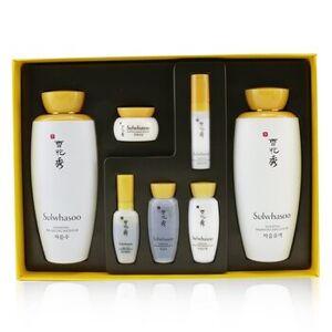 SulwhasooEssential Duo Set: Balancing Water (125ml+15ml) + Balancing Emulsion (125ml+15ml)  + Activating Serum 8ml + Rejuvenating Eye Cream 3.5 ml + F